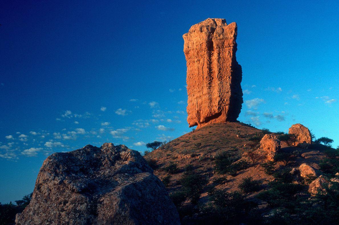 Pedra Mukurob, Namibia