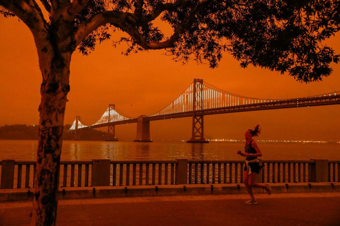 Moradores da Califórnia, nos Estados Unidos, acordaram em um cenário apocalíptico na última quarta-feira (09/09), quando ...