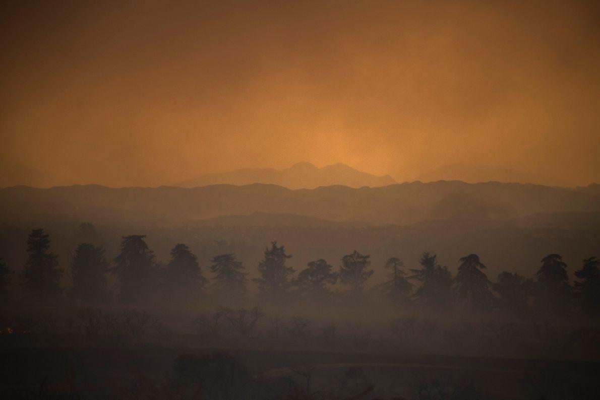 O norte da Califórnia não é a única região do estado que apresenta horizontes sombrios.