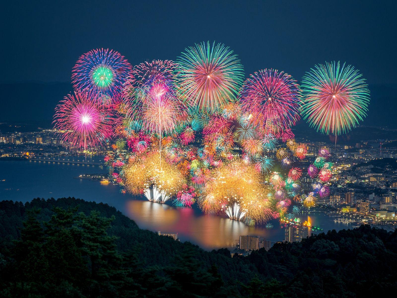 Lake Biwa, Japan