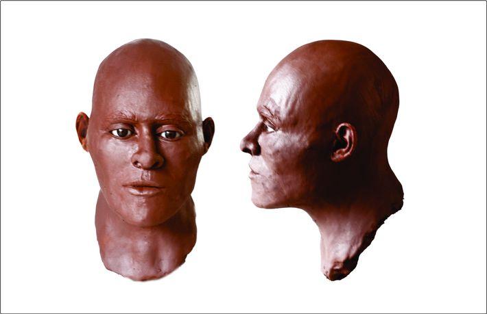 reconstrução facial povo de luzia