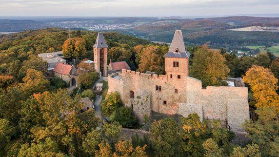 Esse castelo no sul de Hesse, Alemanha, inspirou diversas lendas desde o século 17.