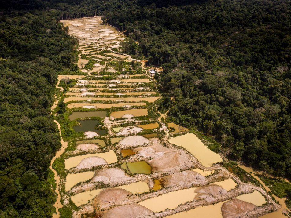 Galeria de fotos: Por dentro da capital do garimpo de ouro ilegal da Amazônia