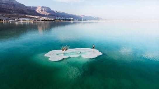 O Mar Morto é o ponto mais baixo da superfície da Terra