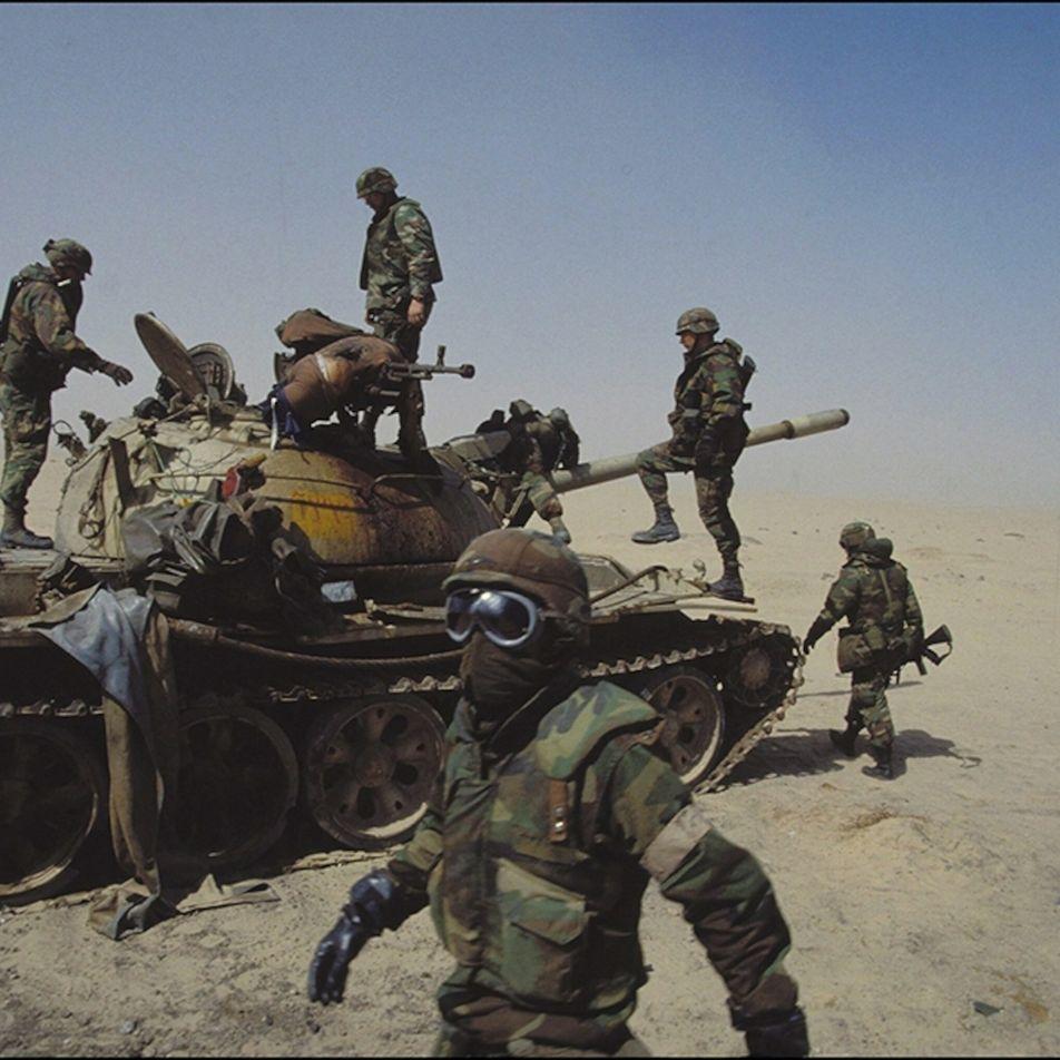 A história não contada da batalha de tanques mais brutal de todos os tempos