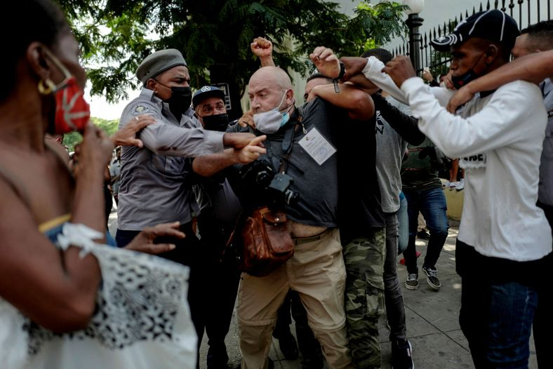 AP photographer attacked