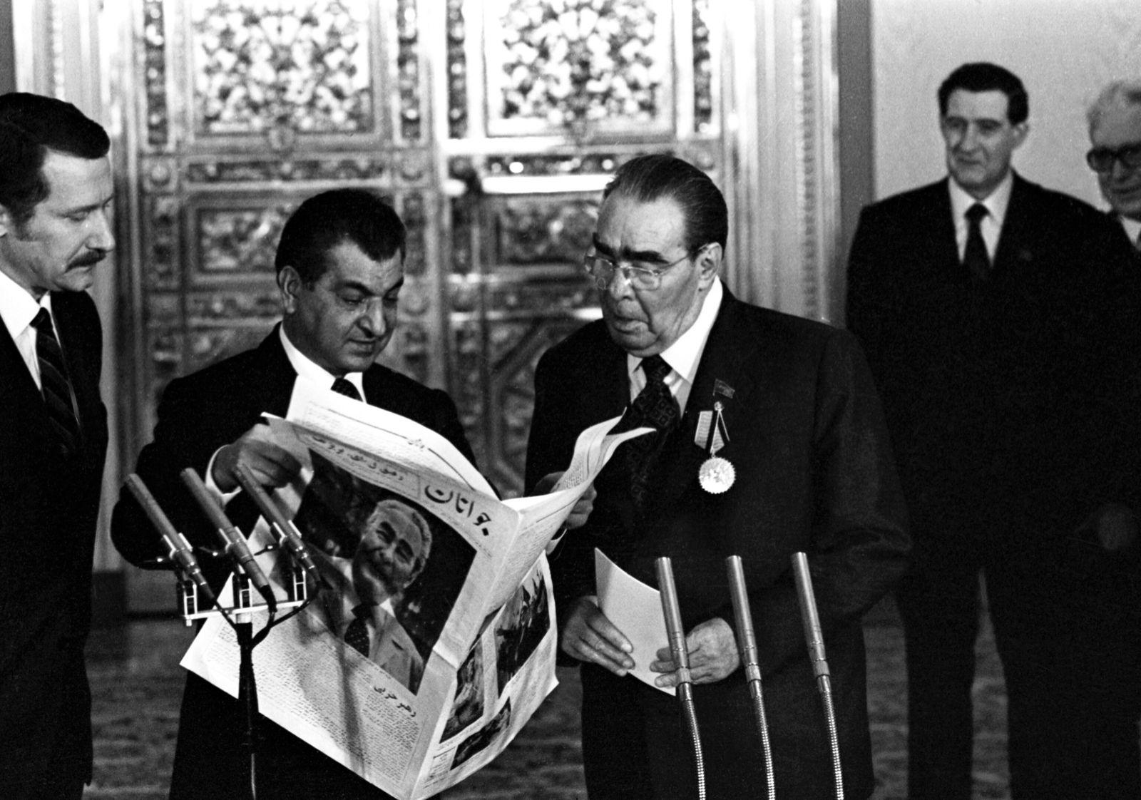 aniversário de 75 anos de  Leonid Brezhnev