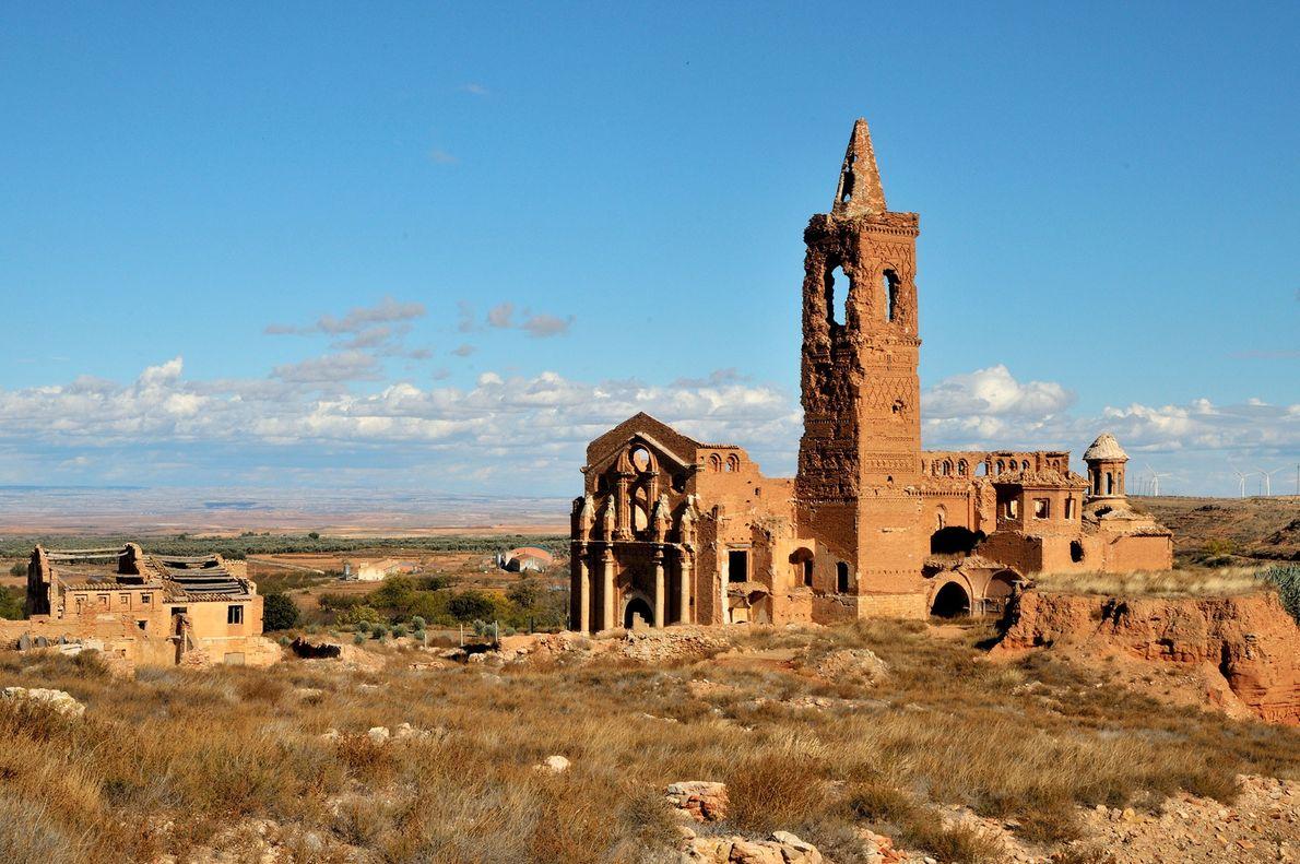 Belchite, Zaragoza Province, Spain