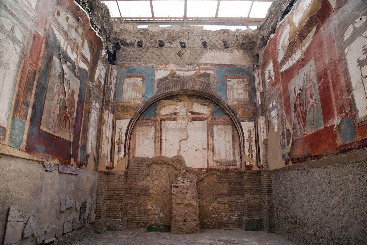 Herculaneum, Naples, Italy