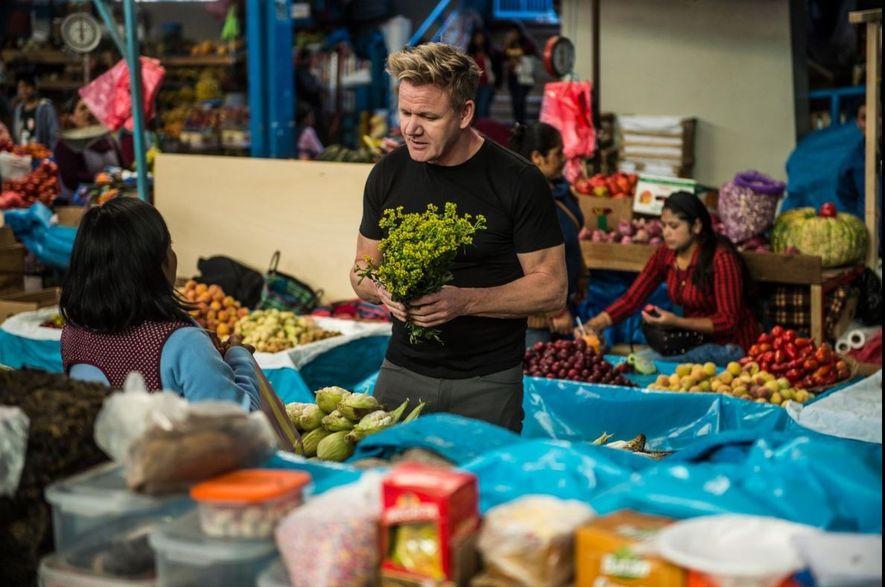 Gordon Ramsay e a chef Najat Kaanache preparam um banquete para a celebração do Ano Novo ...