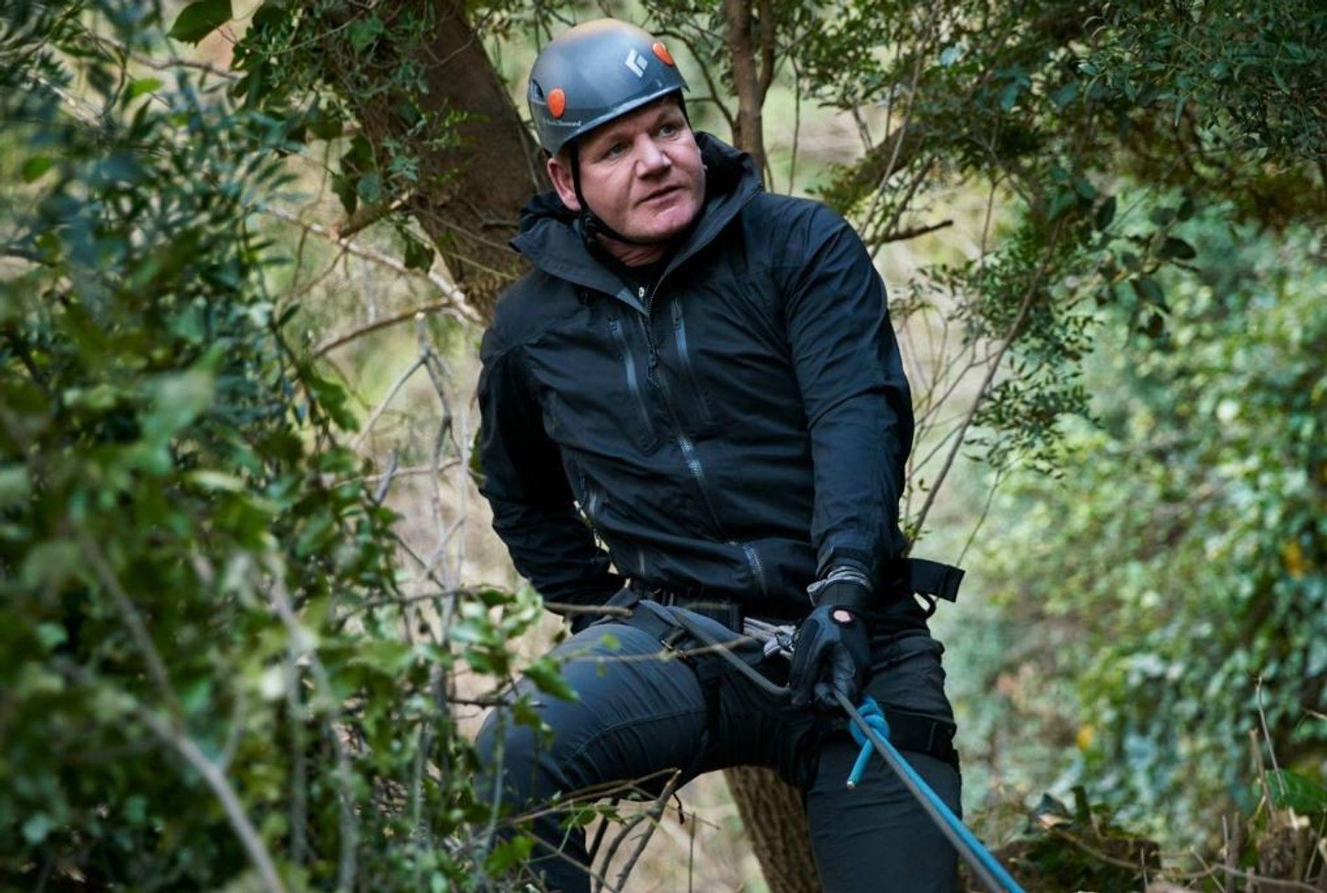 Gordon Ramsay percorre trilhas nas montanhas do Marrocos