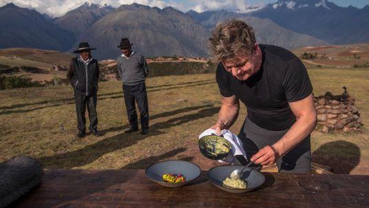 As aventuras de Gordon Ramsay no Vale Sagrado do Peru
