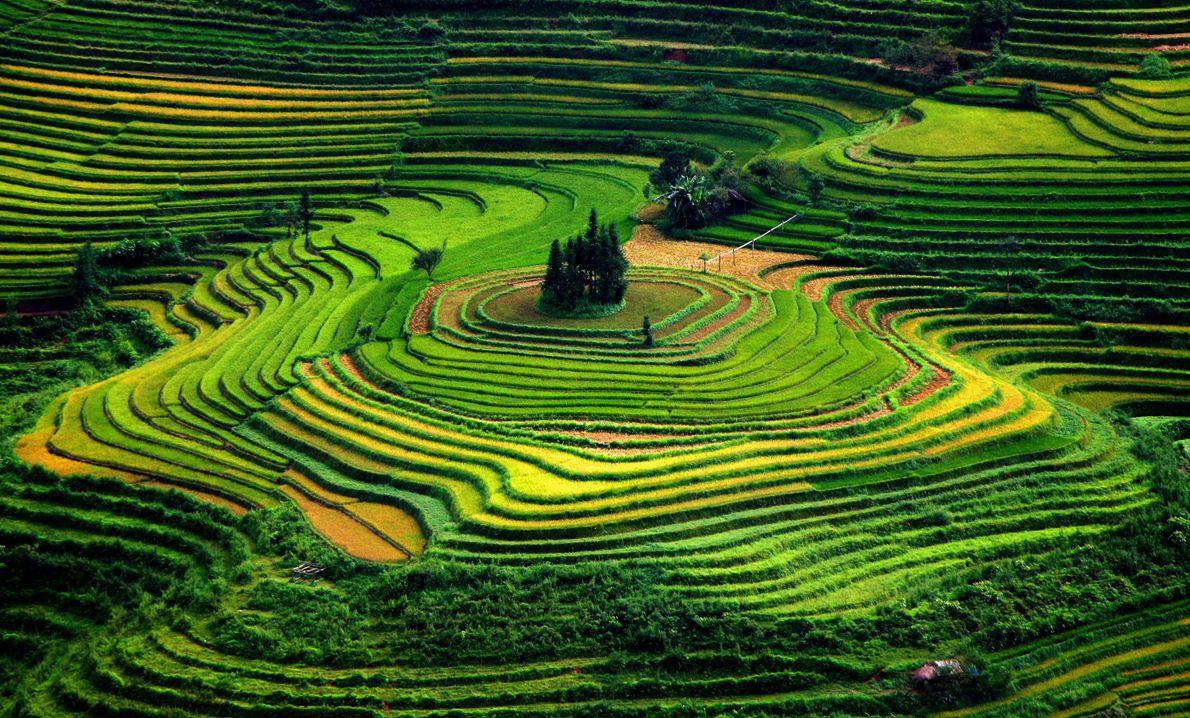 11 destinos coloridos ao redor do mundo