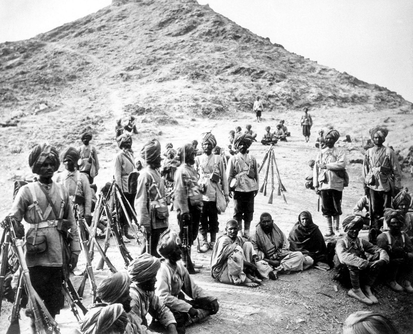 Quando a Grã-Bretanha invadiu o Afeganistão
