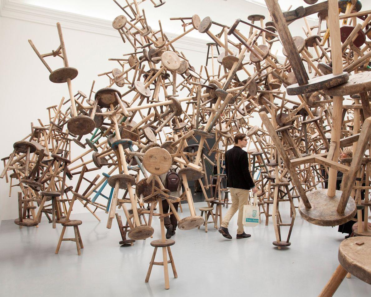 VENEZA, ITÁLIA  Mãe de todas as feiras de arte, a 58a edição da Bienal de Veneza ...