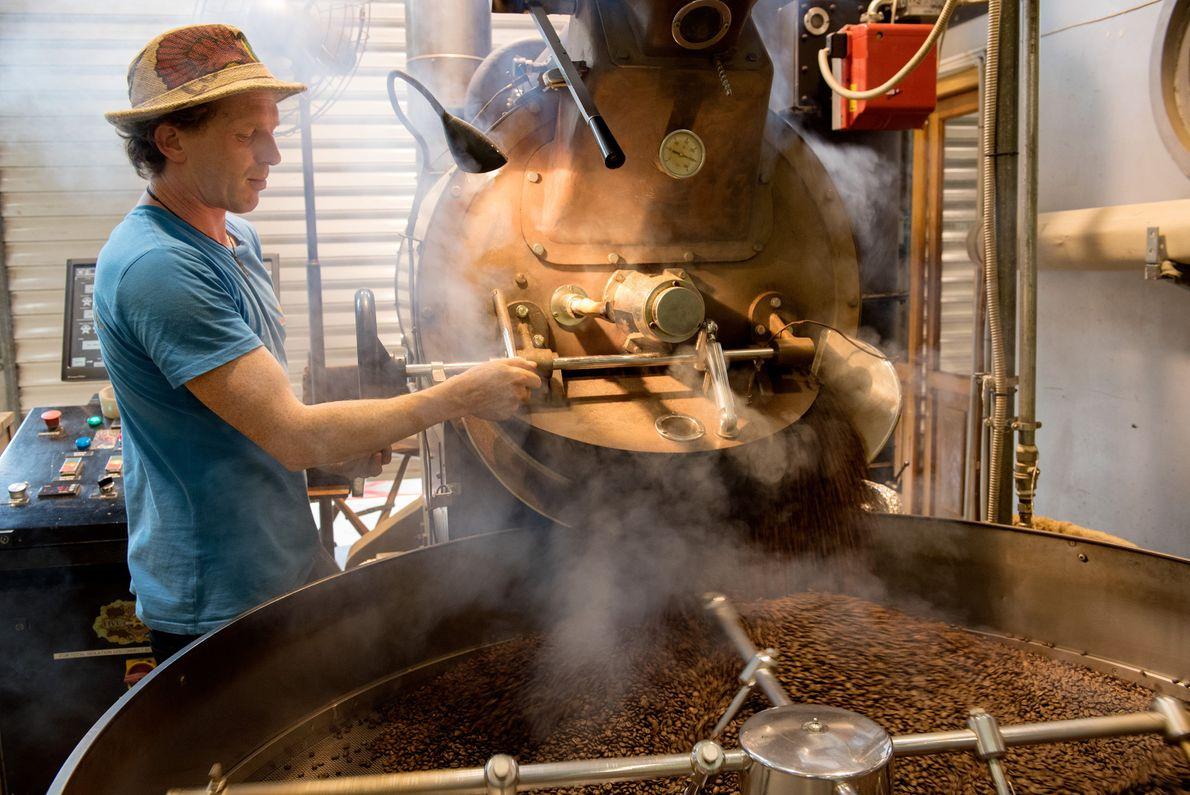 Havana Coffee Works é uma torrefadora, loja e cafeteria no centro de Wellington.