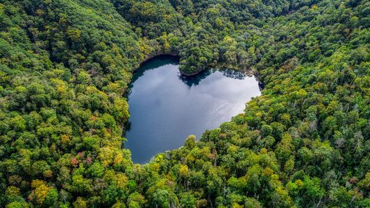 Apaixone-se por 10 lugares com formato de coração ao redor do mundo