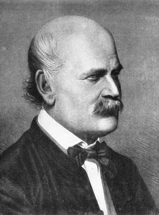 O médico húngaro Ignaz Semmelweis foi pioneiro em procedimentos antissépticos, mas foi ridicularizado por seu trabalho, ...