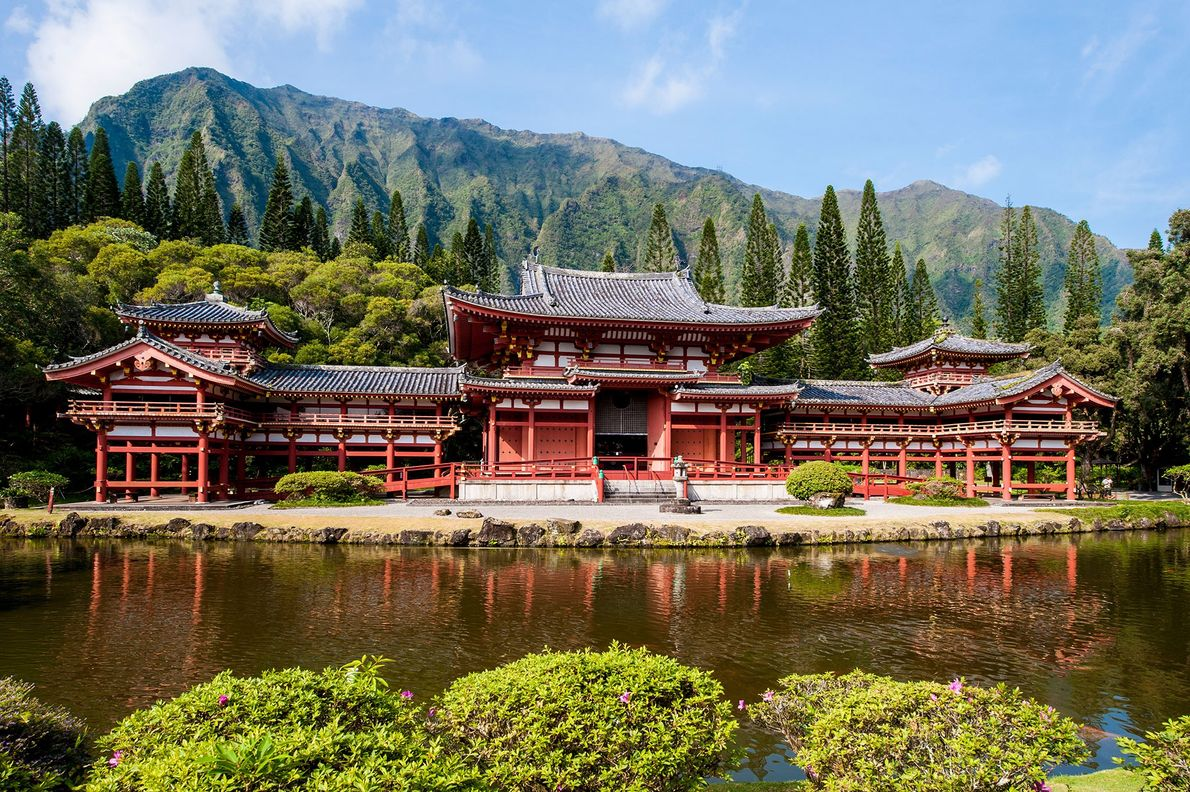 Byodo-In Temple, Hawaii, United States