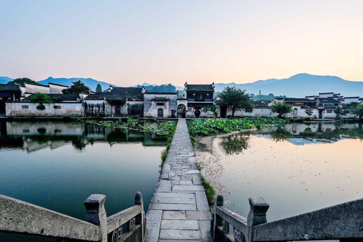 Antiga vila de Hongcun