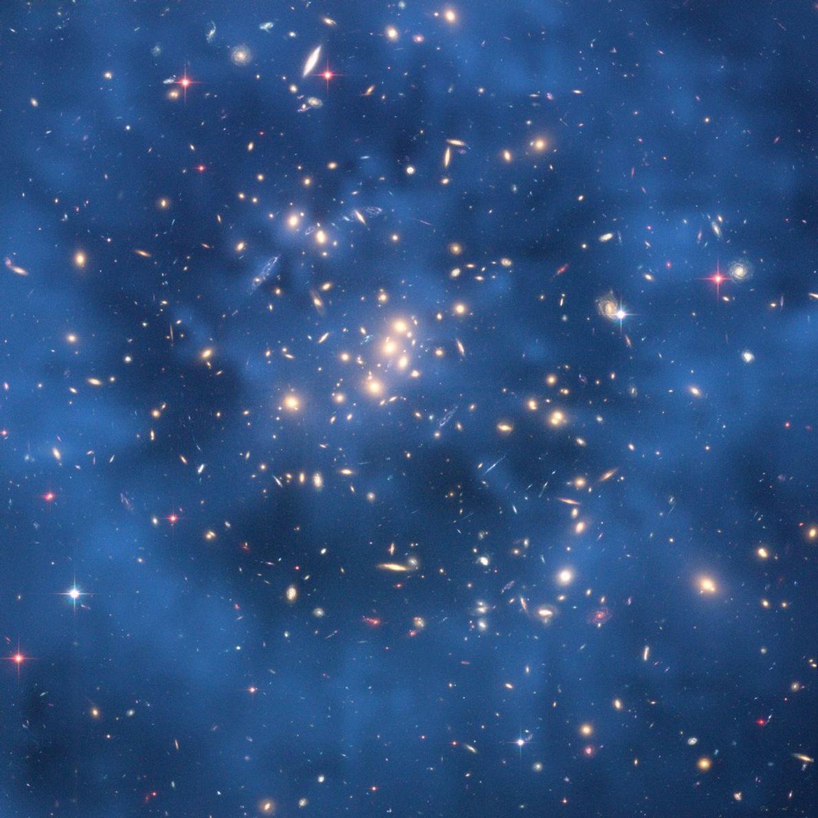 hubble-43-materia-escura-galaxia-aglomerado