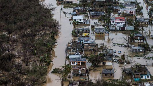 Fotos aéreas exclusivas mostram a destruição de Porto Rico