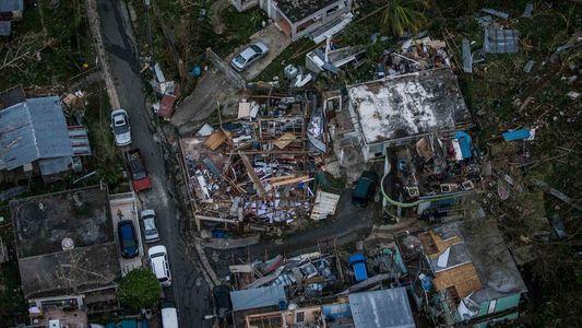 GALERIA: Fotos aéreas exclusivas mostram a destruição de Porto Rico