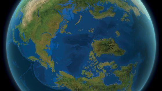 Como seria se todo o gelo da Terra derretesse