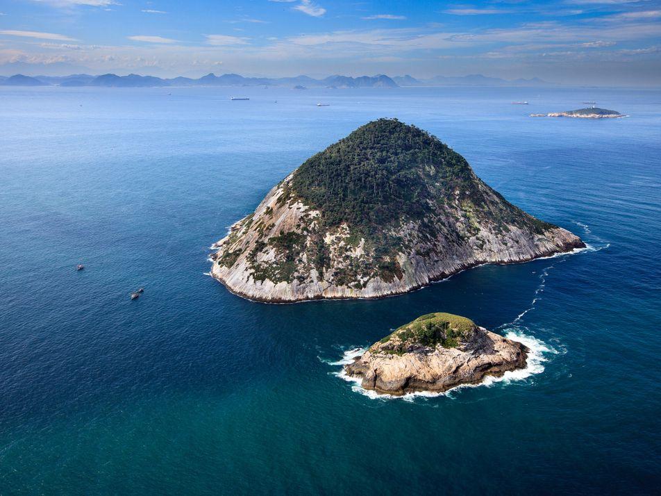 Ilhas Cagarras, no Rio: o mais novo ponto de esperança na costa do Brasil