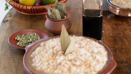 Sabores da Índia: aprenda a fazer um pudim de arroz com Gordon Ramsay