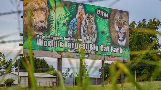 O Parque de Animais Exóticos Greater Wynnewood em Oklahoma, cujo antigo dono era Joe Exotic, reabriu ...