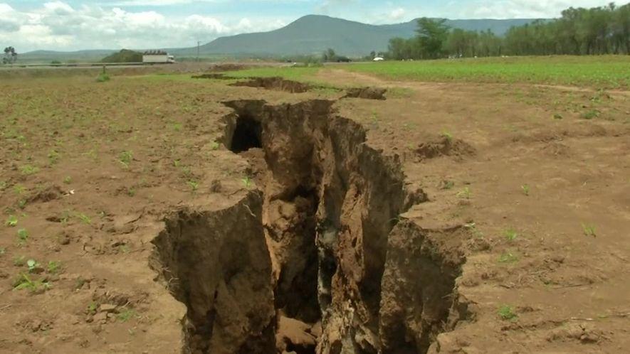Rachadura no solo do Quênia ameaça dividir o continente africano