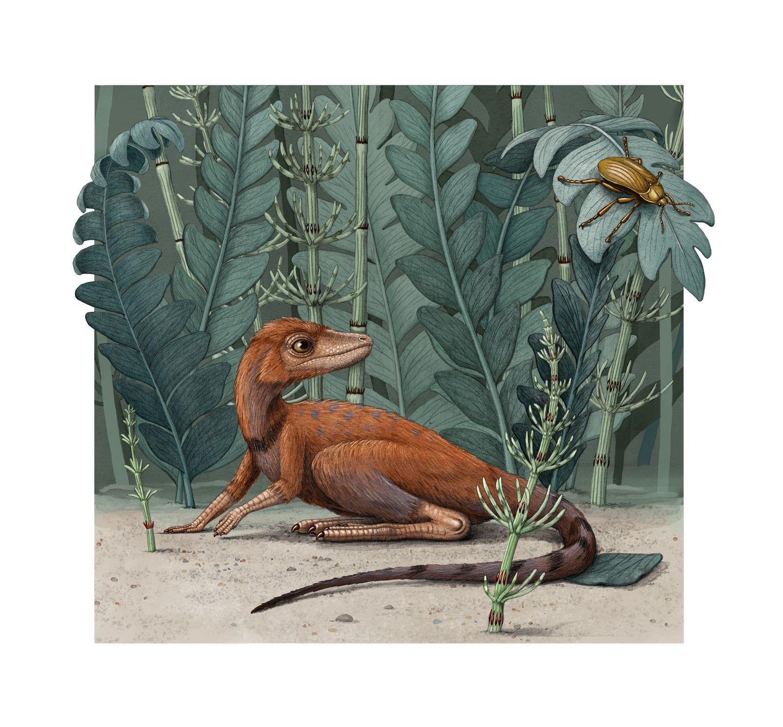 Extinção em massa mais mortal do planeta contribuiu para a ascensão dos dinossauros