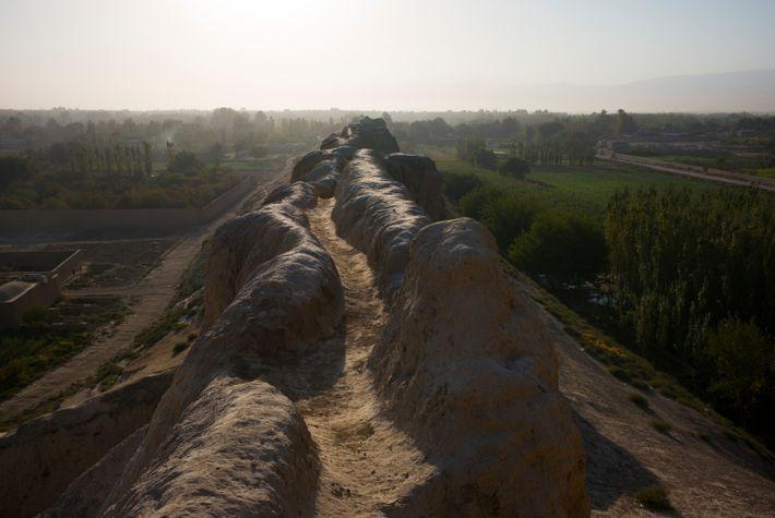 Old Balkh City Walls Near Mazar-e-Sharif