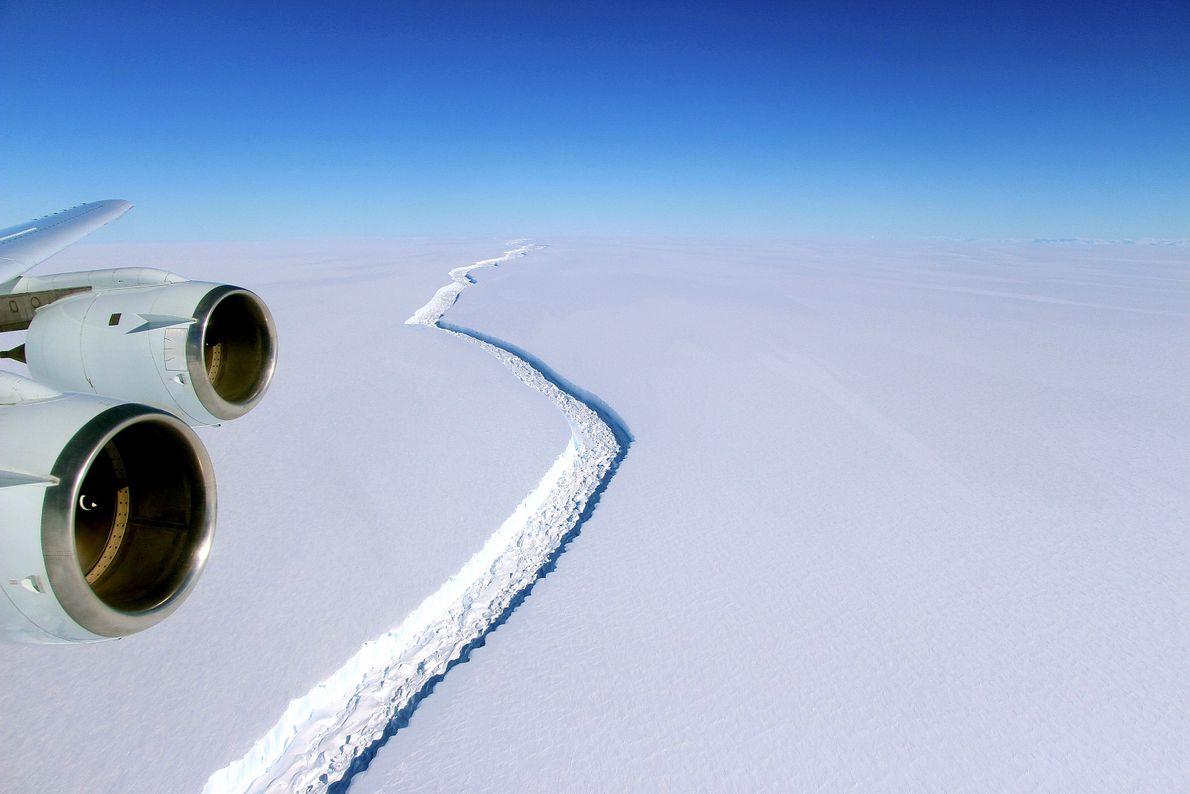 Plataforma de gelo Larsen C, Antártida