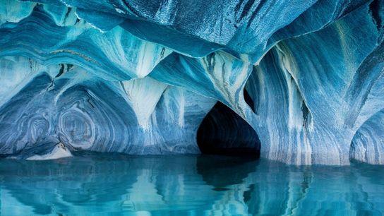 Porto Rio Tranquilo, Chile |Cavernas de mármore da Patagônia.