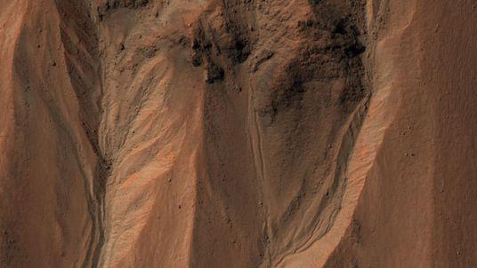 Fotos de Marte revelam um mundo que já teve água em abundância