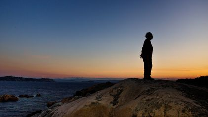 FOTOS: O homem que vive sozinho em uma ilha paradisíaca há 28 anos