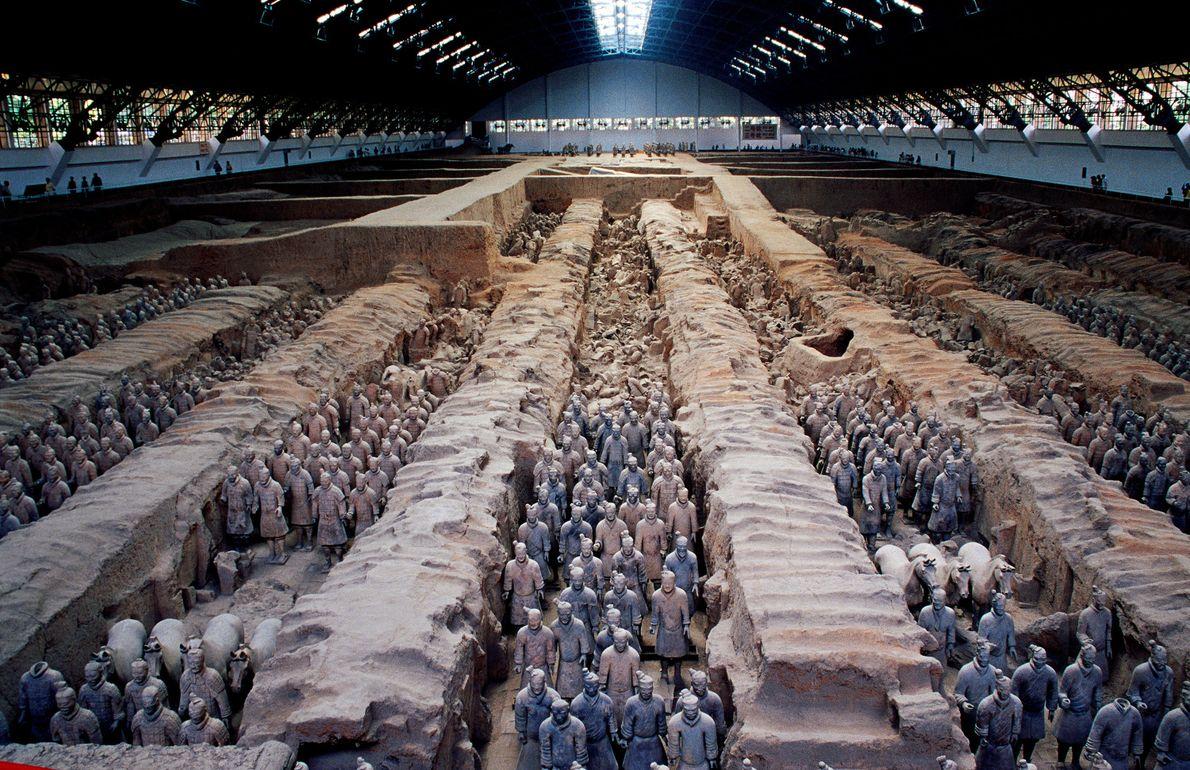 Sítio arqueológico do Mausoléu de Qin Shihuang