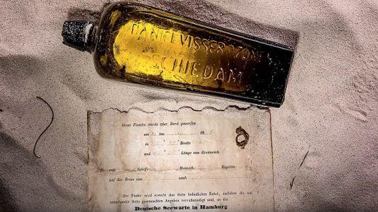 Mensagem em garrafa mais antiga do mundo encontrada em praia