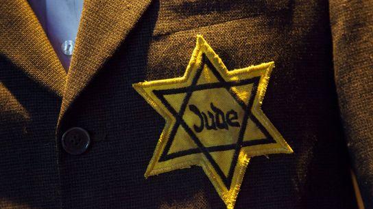 Estrela de Davi: o Memorial do Holocausto reproduz o símbolo religioso que os judeus europeus foram ...