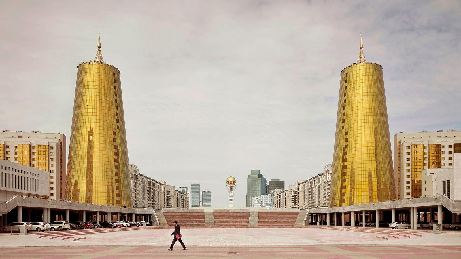 Complexo de ministérios, em Astana, Casaquistão