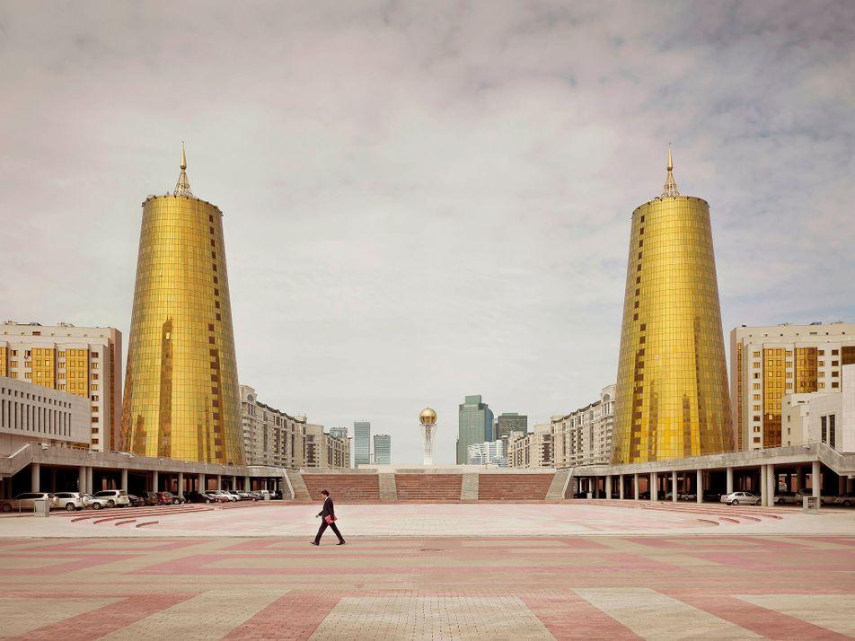 Fotos surreais da arquitetura pós-soviética