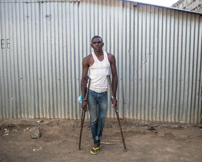 Job Wainana, de 25 anos, trabalhava como pescador em Kasarani, na margem norte do lago Naivasha, ...