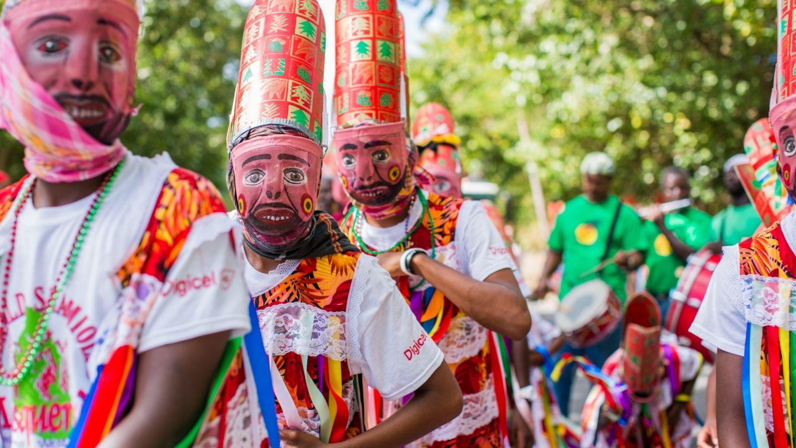 Montserrat Masquerade Dancers
