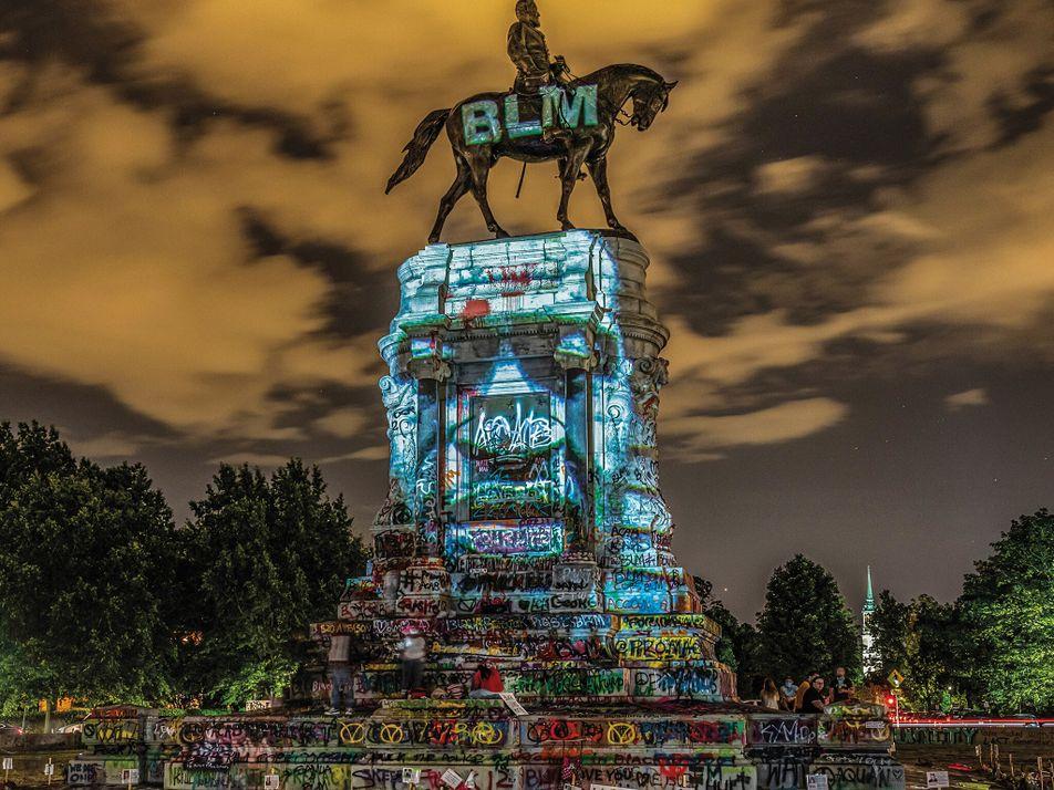 O que poderá substituir os monumentos confederados derrubados nos Estados Unidos?