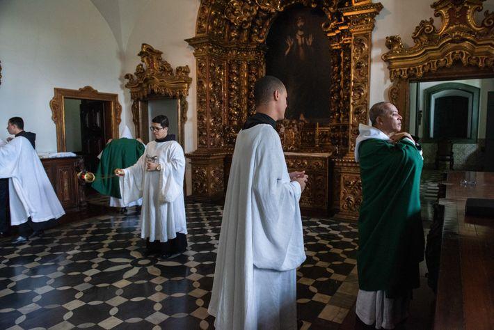sacristia mosteiro de sao bento