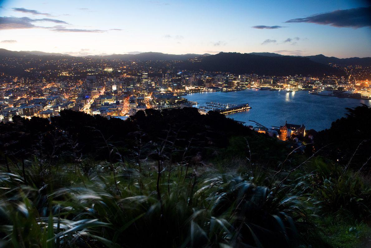 O mirante do Monte Vitória é o local perfeito para um piquenique ao pôr do sol ...