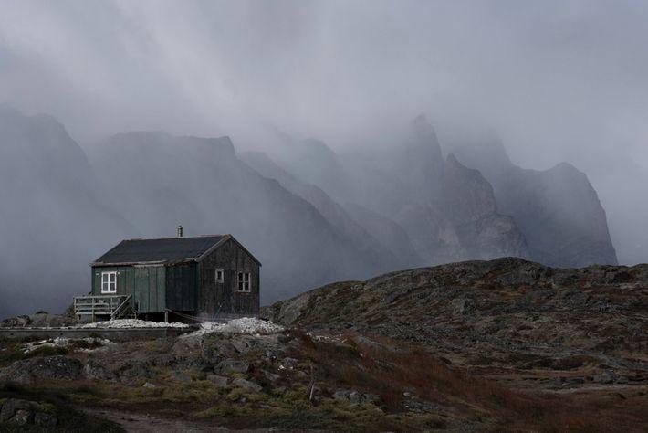 Intrigado pela rotina das comunidades locais, Chu também explorou vilarejos isolados no sul da Groenlândia, incluindo ...