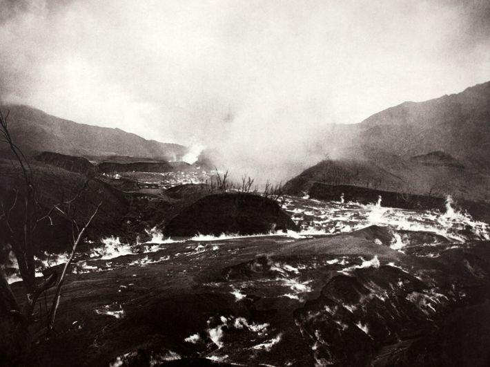 La Soufrière volcano